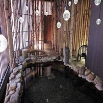 2019年リニューアル天然温泉「灯の湯」女性大浴場「外気浴」②
