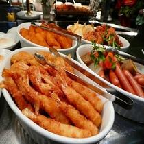 レストラン「北の番屋」子供に人気のエビフライ