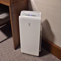 【客室設備】加湿機能付き空気清浄機