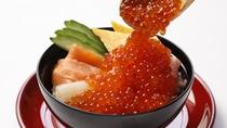 【ご朝食】ご当地メニュー(豪快海鮮丼)※一例