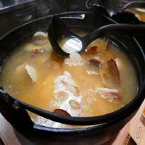 レストラン「北の番屋」お味噌汁