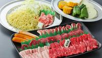 【キャンプ場・日帰り夕食】手ぶらでバーベキュー「プレミアムコース」お肉1人前(近江牛含む)約340g