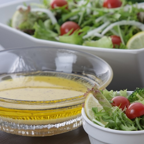 地元野菜のサラダ 塩麹ドレッシング