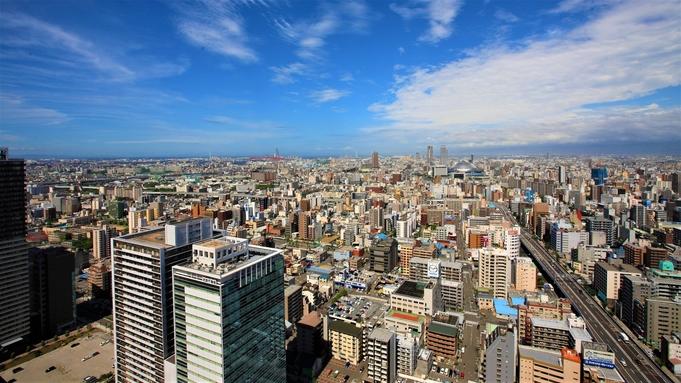 【WE LOVE OSAKA】西側六甲山方向の眺望確約<素泊まり>