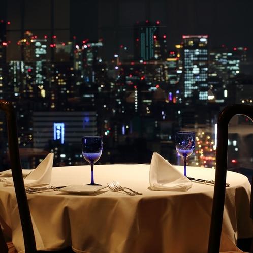 【レストラン】夜景