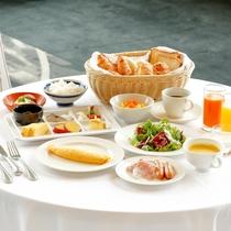 【朝食】和洋ブッフェ