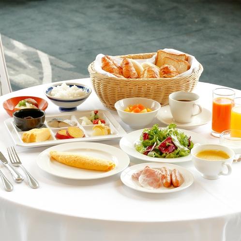 【朝食】和洋ブッフェ(通常時)