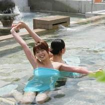 ある日の露天風呂