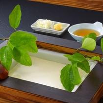 朝食メニュー一例『手作り豆腐』