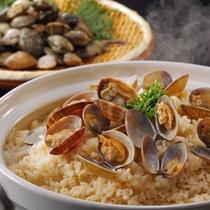 2月メニュー一例『浅蜊御飯』