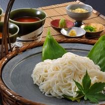 朝食メニュー一例『温麺』