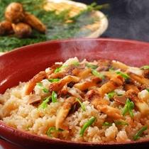 10月メニュー一例『松茸御飯』