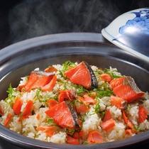 9月メニュー一例『鮭御飯』