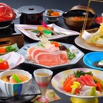 和食膳プラン『松の膳』一例