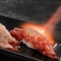 和牛炙り寿司(料理イメージ)