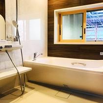 【2間和室10+10畳】専用のお風呂がオープン♪