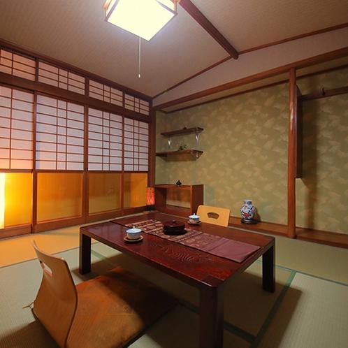 【和室6畳】 くつろぎの和の間 -東・西・松-