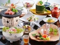 【夏 料理一例】丹後の旬な名物「とり貝」や「岩牡蠣」をお楽しみください