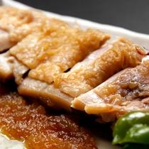 群馬県内産鶏肉の照焼き