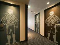 コンセプトフロア・廊下イメージ