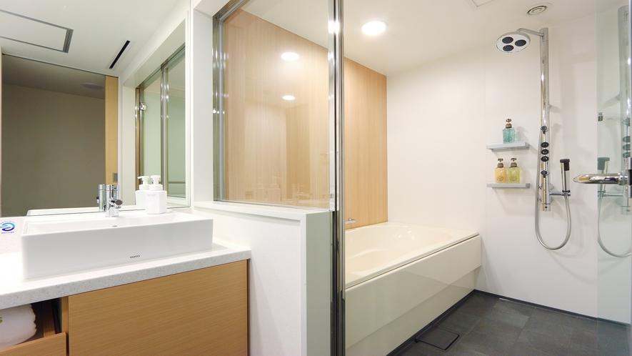 【博多東急REIホテル】スーペリアツインバスルームイメージ画像