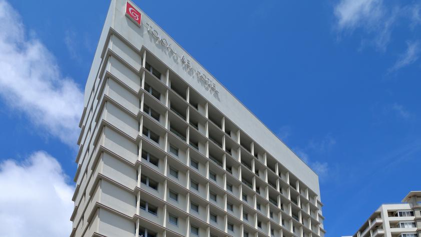 ホテル外観(昼)