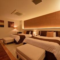 *プレミアムスイート(1303号室)/ゆったり広々とした空間で安らぎのひと時をお過ごし下さい。