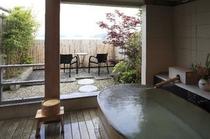 客室付き露天風呂(ゆったり二間和室)