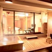 客室付き露天風呂