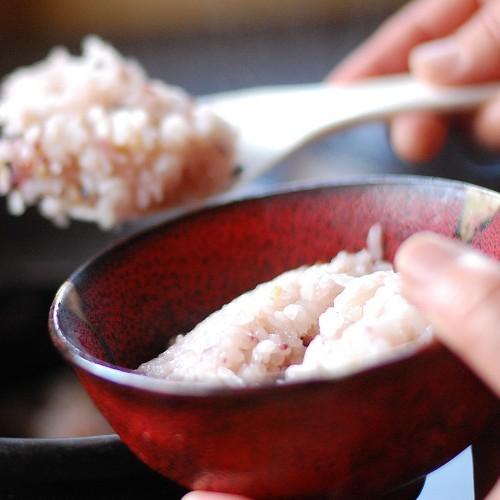【夕食】米も自社農園で作っております。美味しいお米をたくさん召し上がってください/例