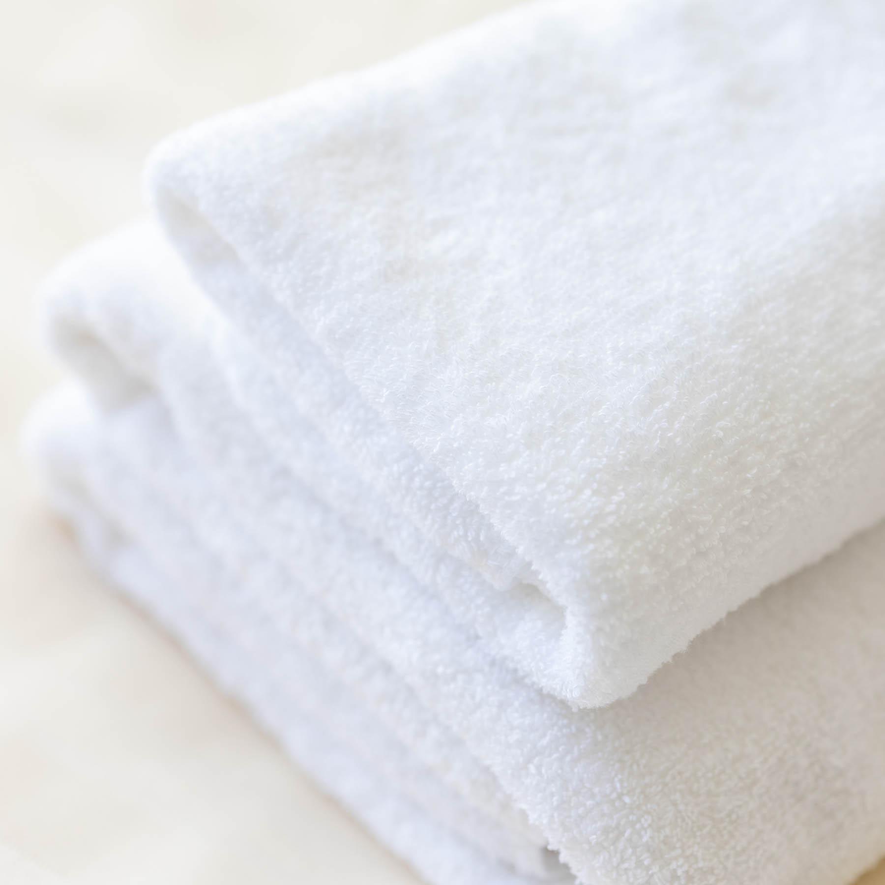 【客室の備品】ふかふかのタオルで