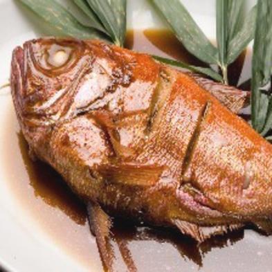 ≪名物!金目鯛の煮付&大漁舟盛≫ 元祖プラン♪ ふっくらとした身はかみしめるごとに旨味広がる【紅葉】