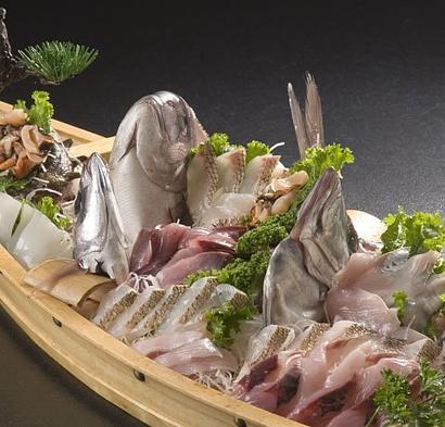 ≪大漁舟盛り☆飲み物持込歓迎☆プラン≫お気に入りのお酒で新鮮な地魚を満喫!水割りのアイス無料特典付!