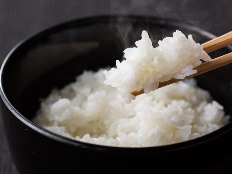 蘭越町産ななつぼし。北海道で最も多く作られている品種です。