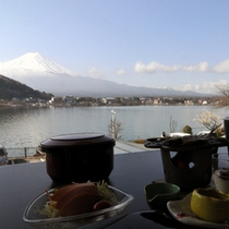 レストからの眺望(朝食)