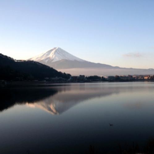 冬の逆さ富士