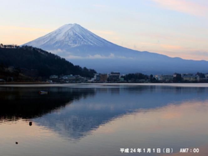 H24元旦の富士山