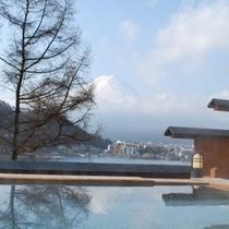 露天風呂「富士見の湯」