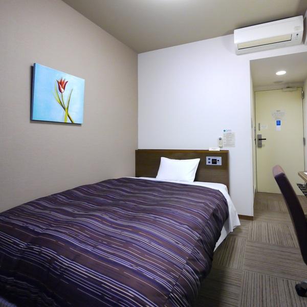 【本館】シングルルーム ベッドサイズ140196(cm)
