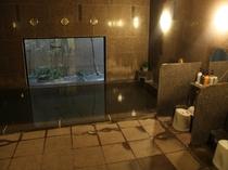 本館:男性大浴場☆足をのばしてゆっくりお入り頂けます!