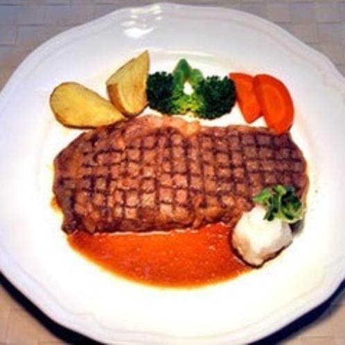 【たまにはちょっと贅沢*上州牛のステーキ】