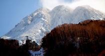 冬の日光白根山