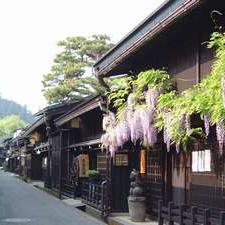 古い町並みは当館より徒歩5分。観光にもとっても便利な場所にあります。