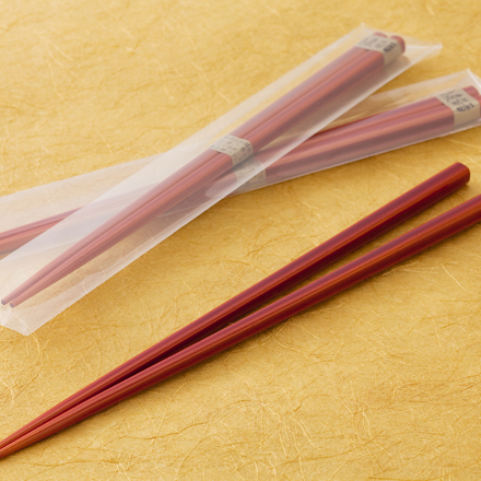 【男の一人旅特典】男性だってマイ箸を持つ時代!「春慶福箸」を1膳プレゼント☆