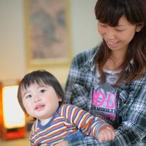 【赤ちゃんプラン】赤ちゃん連れのママにうれしいプランです☆