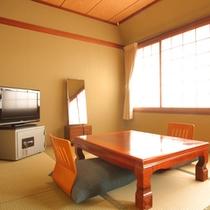 【和室6畳】1名様からご利用頂けるお部屋です。(一例)