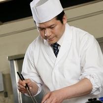 曽根調理長【美やまの美味しいお料理はこの人の腕に支えられています】