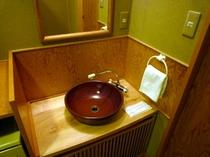 客室の洗面所です!