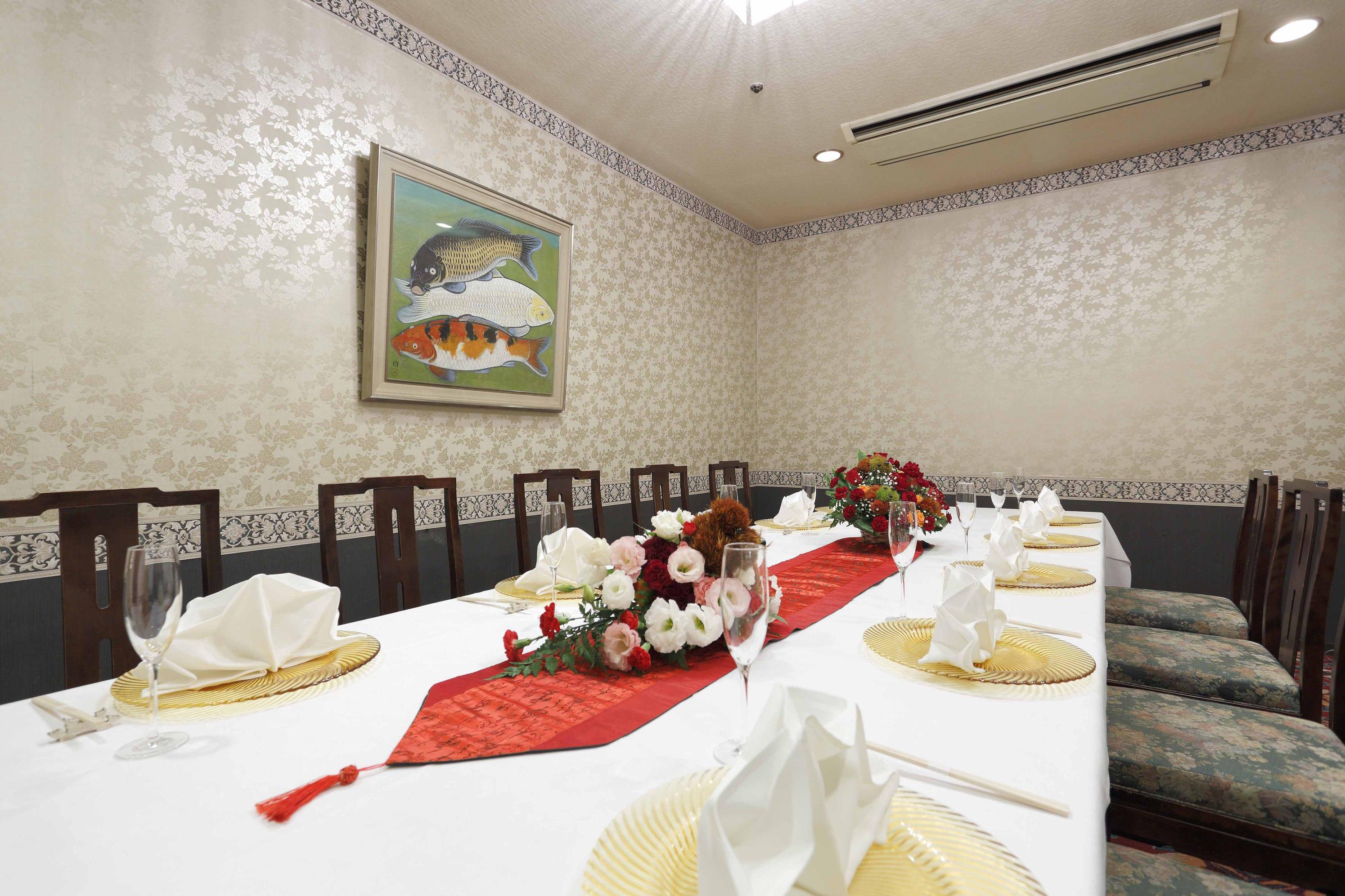 中国料理【唐紅花】個室