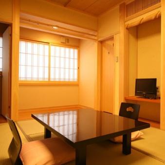 禁煙室ウォシュレットトイレ&32インチTV付2-3名様用客室